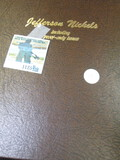 Dansco Jefferson Nickels Book From 1938- 1994-S With Spaces For Proof Only Issues