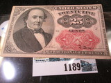 25 Cent Fractional Note
