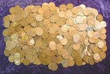 2554. (516) Unsearched Wheat Cents.