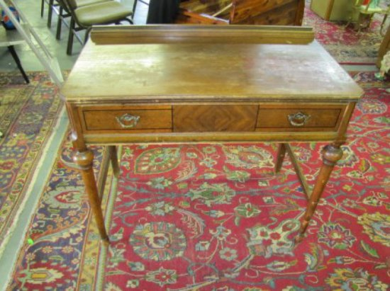 Antique Writing Desk. By General Furniture Co., Seattle, Wa. As Shown - Antique Writing Desk. By Gener... Auctions Online Proxibid