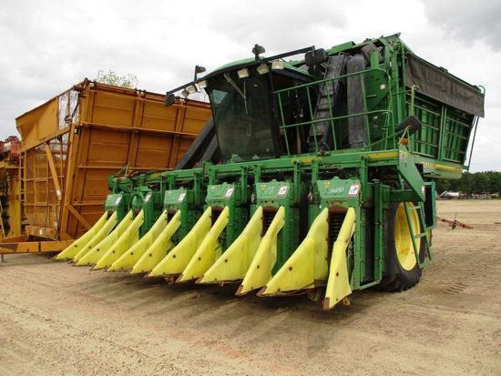 JOHN DEERE 9976 6R COTTON PICKER CAB, PRO 16 PICKER HEADS, 4WD, SN-N09976X009331 **ENGINE HOURS