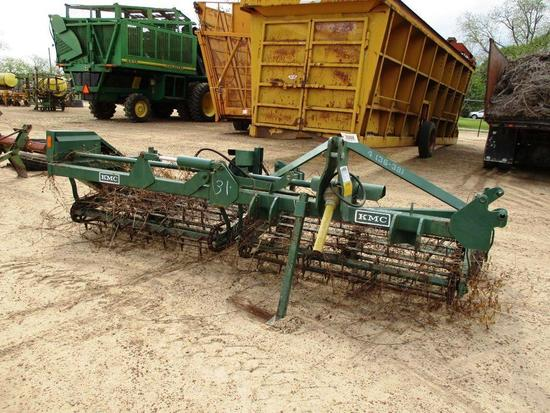 KMC 4 (36-38) RESHAKER PTO DRIVEN, ( NO SHAFT) 3PT