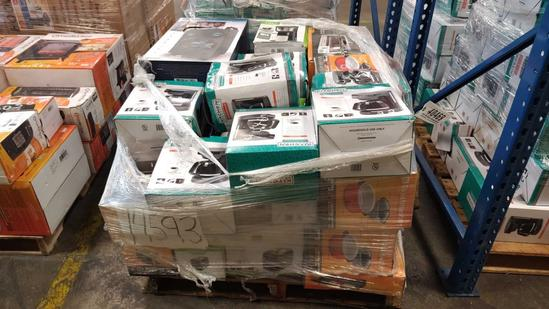 COFFEE POTS, SPEAKERS, TOASTER OVENS (1 PALLET)