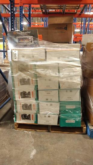 COFFEE POTS, TOASTERS, ELEC SKILLETS (1 PALLET)