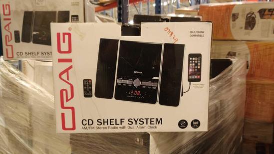 CRAIG CD SHELF SYSTEM,CRAIG DVD PLAYERS