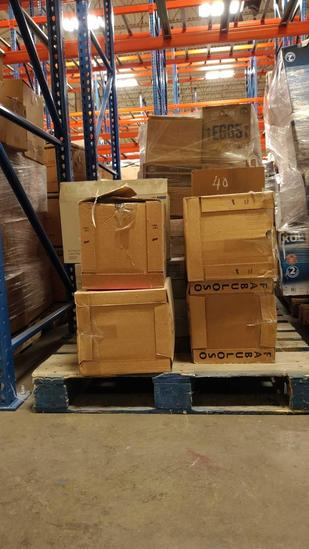 COSMETICS, STORAGE CONTAINERS (1 PALLET)