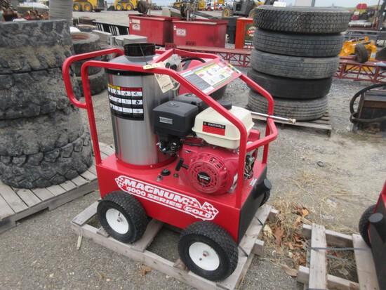 Magnum 4000 Steam Genny Gas Engine Pressure Washer