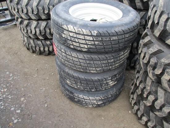New ST205-75R15 Trailer Tires