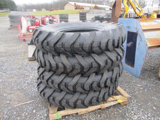 New 14-24 Load Max 16 Ply L2/G2 Tires (4)