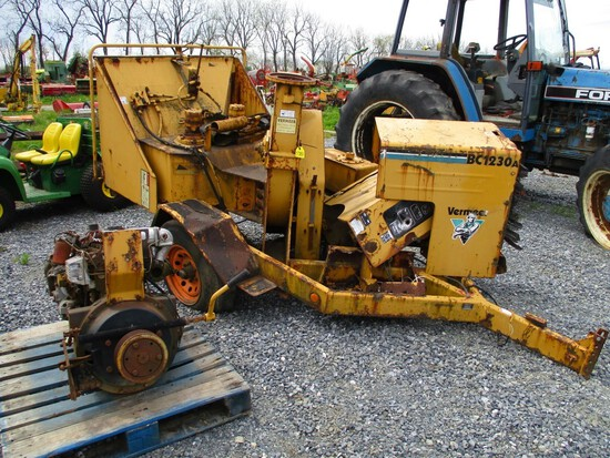 Vermeer BC1230A Chipper ** AS IS **