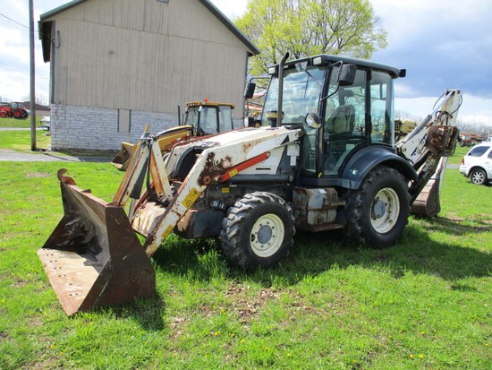 Terex TX760 Loader Backhoe