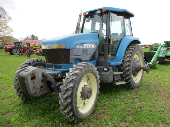 1995 Ford 8870 Tractor