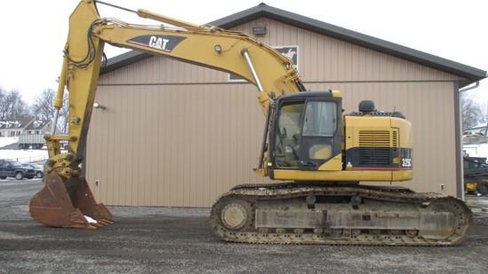 CAT 325C LCR Excavator