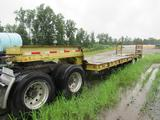 1972 Ferrec Fixed Gooseneck Lowboy Trailer