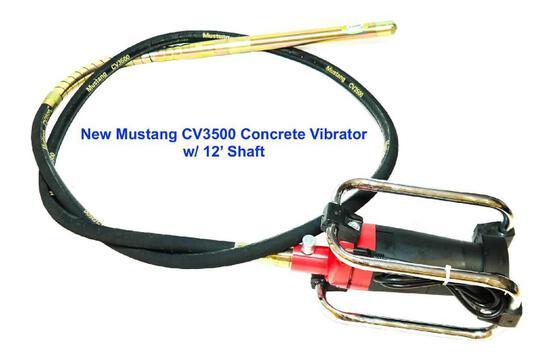 Mustang CV3500 Concrete Vibrator