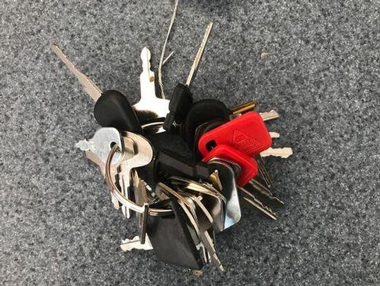 Equipment Key Ring