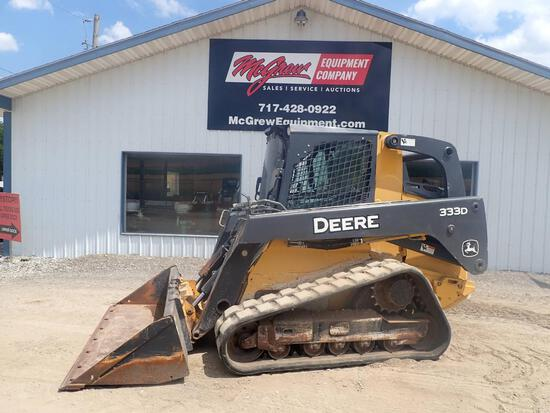 2011 John Deere 333D Skid Steer Loader