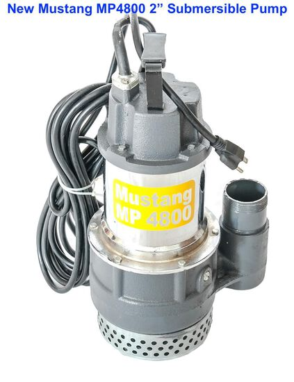 "2020 Mustang MP4800 2"" Submersible Pump"