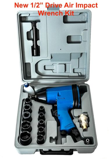 "2020 1/2"" Drive Air Impact Wrench Kit"