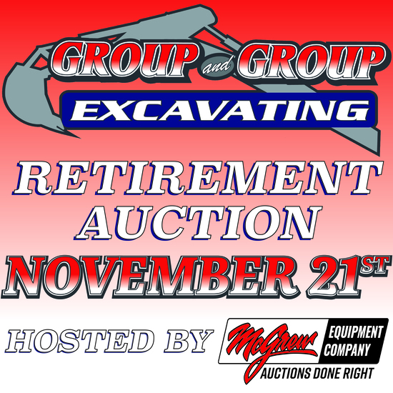 Group & Group Excavating Retirement Auction