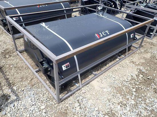 "JCT 72"" Skid Steer Hydraulic Boxbroom Sweeper"