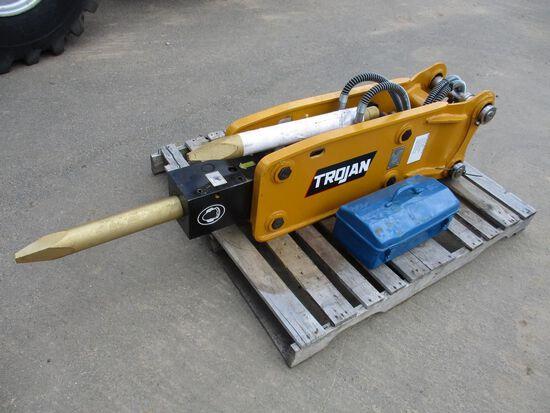 Trojan TH50 Excavator Hammer