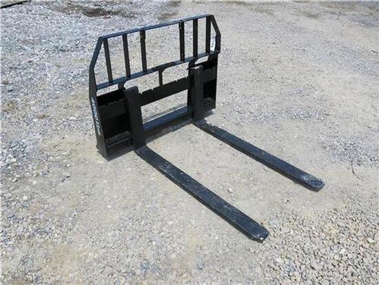 """Ansung 48"""" Skid Steer Pallet Forks"""