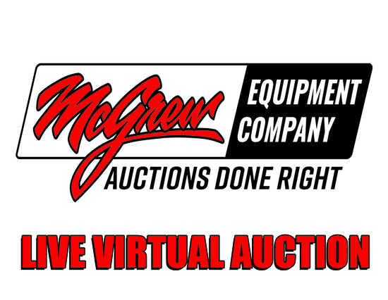 McGrew Equipment Live Virtual Auction