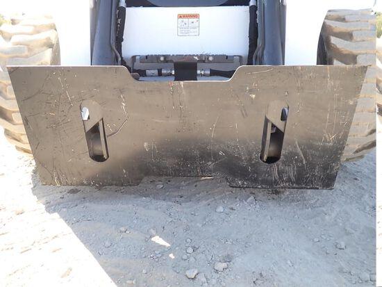 Wildcat Skid Steer Quick Attach Plate