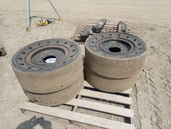 30x10-16 Solid Skid Steer Tires