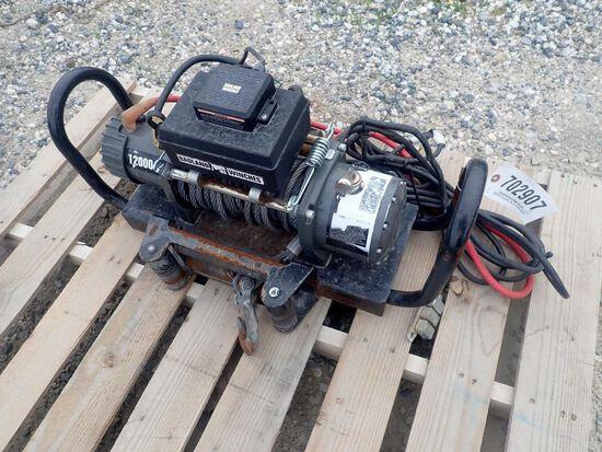 BadLand 12,000 Electric Winch