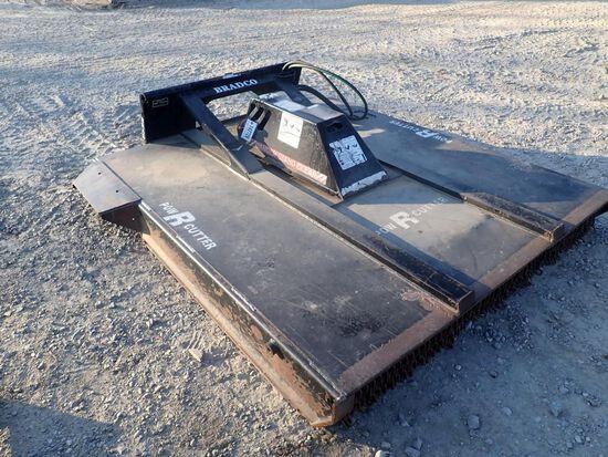 """Bradco 74"""" PowR Cutter Skid Steer Mower"""