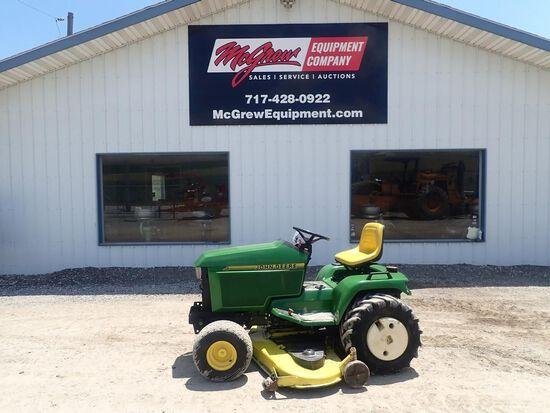 John Deere 455 Diesel Garden Tractor