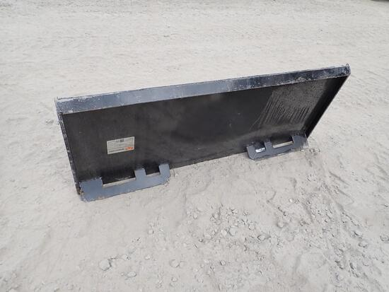 2021 Mower King Skid Steer Quick Attach Plate