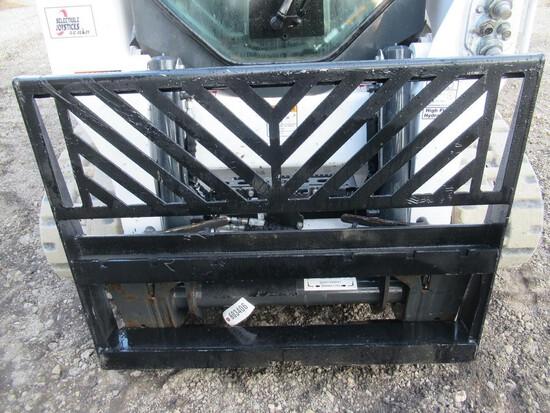 Wildcat Skid Steer Pallet Fork Backing Plate