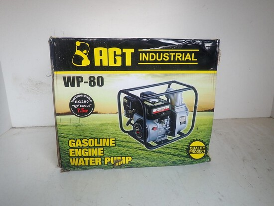2021 AGT WP-80DF3 Water Pump