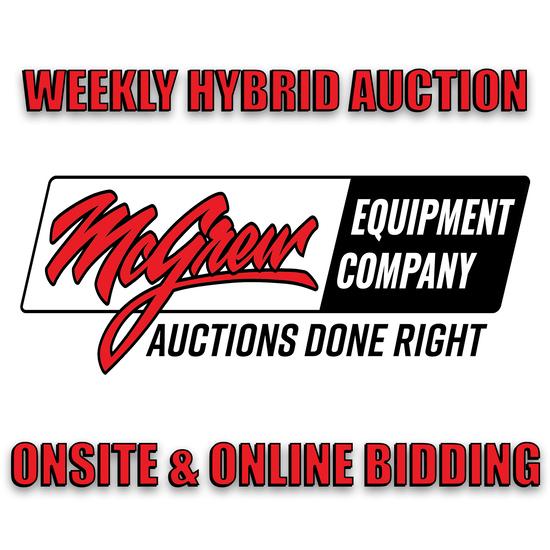 McGrew Equipment Live ONSITE Auction