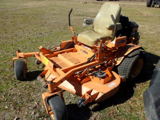 TURF TIGER SCAG ZERO TURN MOWER