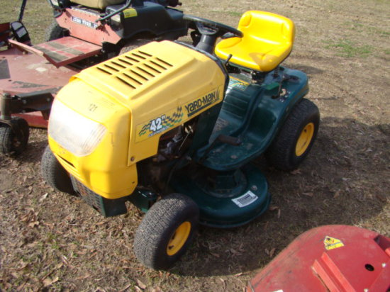 "2001 YARDMAN 42"" RIDING LAWN MOWER"