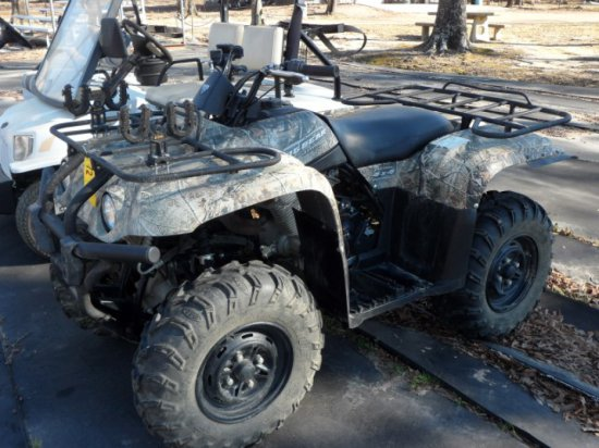 2011 YAMAHA 400 BIG BEAR ATV
