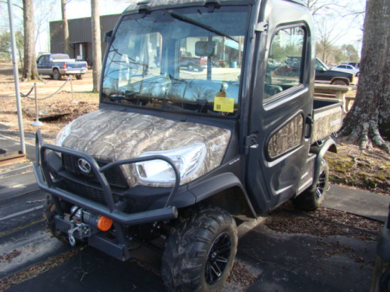 (NT) KUBOTA 4X4 SIDE BY SIDE ATV