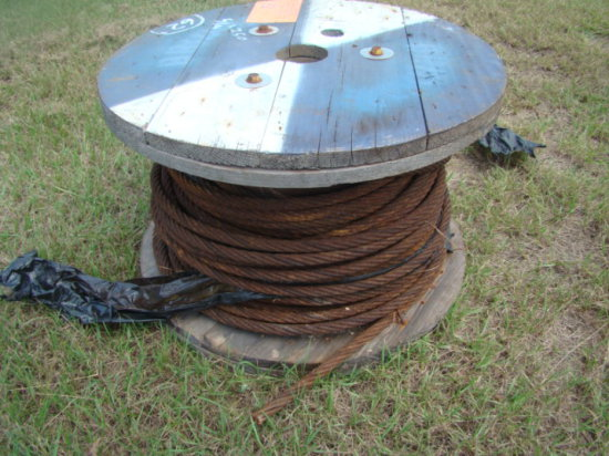 5/8 CABLE  APPROX. 150'