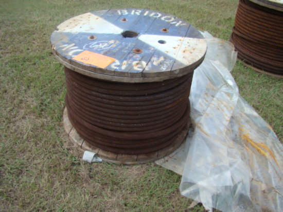 7/8 CABLE APPROX. 450'