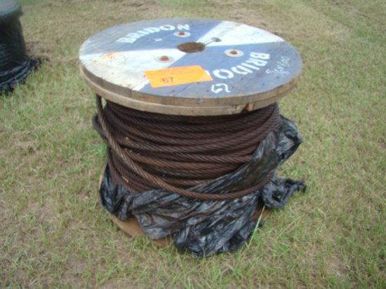5/8 CABLE  APPROX. 600'