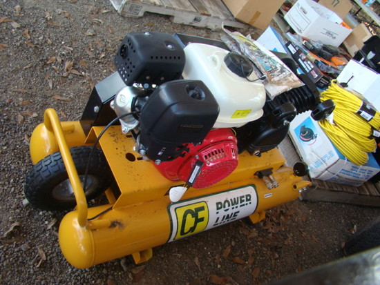 POWERLINE WHEEL BARROW AIR COMPRESSOR