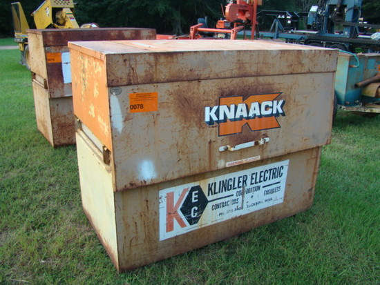 METAL KNAACK JOB BOX