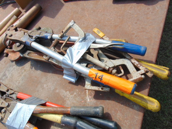(4) PUNCH OUT TOOLS