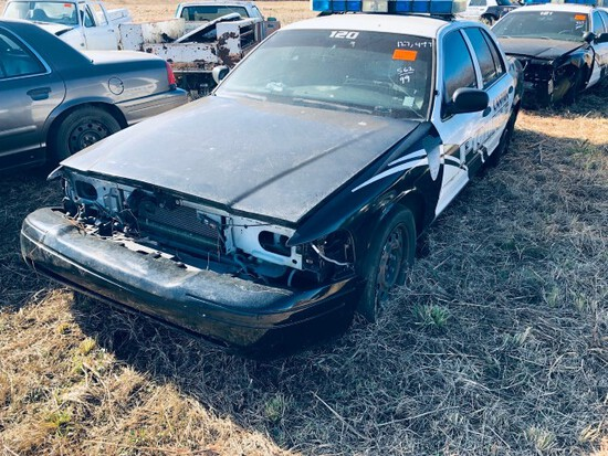 (INOP) (T) 1999 FORD CROWN VICTORIA POLICE CRUISER