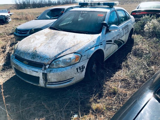 (INOP) (T) 2006 CHEVROLET IMPALA POLICE CRUISER
