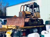 (INOP) SELLING TOGETHER: CASE 850H BULLDOZER AND PINTLE HITCH TRAILER